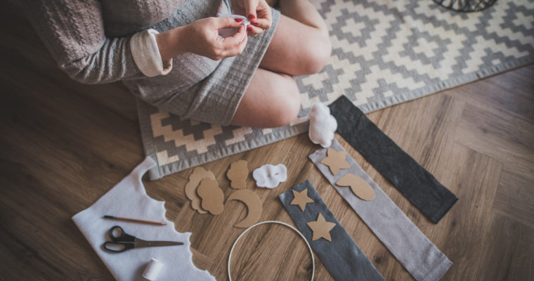 DIY projekt – voodikarussell